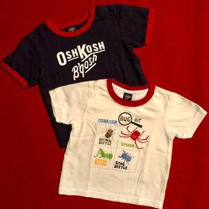Lot of two OshKosh ringer t-shirts